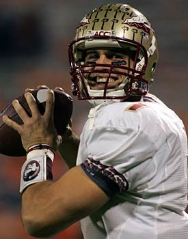 Florida State's Christian Ponder 'looks and carries himself like an NFL quarterback,' says one scout. (US Presswire)