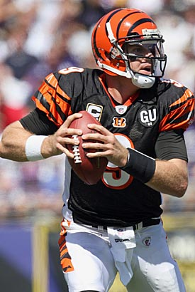 Carson Palmer's return gives Cincy a chance to contend in the AFC North. (Getty Images)