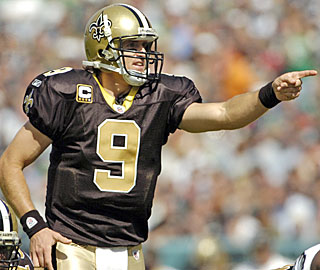 The Saints offense has scored 93 points in two games with Drew Brees throwing nine touchdown passes.