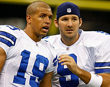 Dallas' Miles Austin and Tony Romo. (Getty Images)