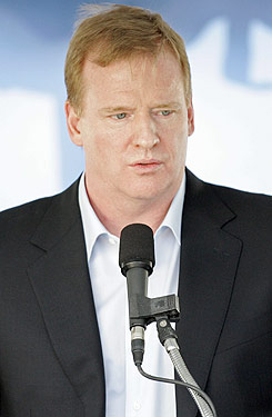 Roger Goodell is going beyond the guidelines of the personal conduct policy he set up. (US Presswire)