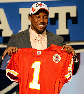 Picking former Tennesee safety Eric Berry helps the Chiefs earn a 'B-'. (Getty Images)