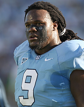 Marvin Austin is one of four Tar Heels among the top 32 prospects for 2011. (Getty Images)