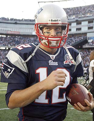 Contrary to a few opinions out there, Tom Brady's skills aren't eroding. (US Presswire)