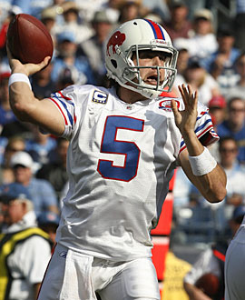 Will Trent Edwards emerge as the Bills' starting quarterback? (Getty Images)