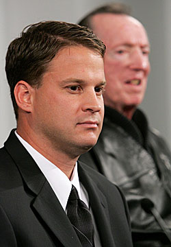 Lane Kiffin wants to be feared by those in his employ, just like former boss Al Davis. (Getty Images)