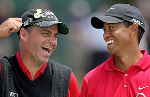 'I am sure when he comes back he will be 190 percent ready to go,' Rocco Mediate says of Tiger Woods. (Getty Images)