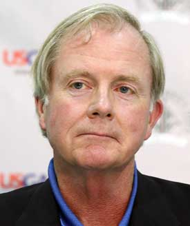 David Fay of the USGA says it will probably be October before conclusions can be drawn. (Getty Images)