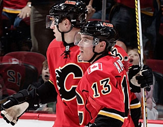 Michael Cammalleri (13) has scored multiple goals in four of his past six games.  (Getty Images)