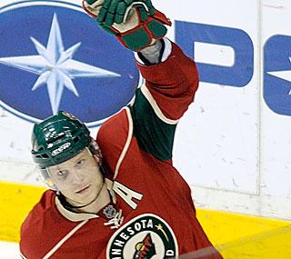 Mikko Koivu comes through for the Wild with a game-winning shootout goal against Edmonton.  (AP)