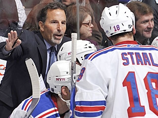 It's one point, but John Tortorella would've liked to get both in his first game in charge. (AP)