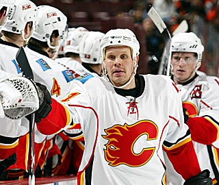 By scoring twice in the first 15:53, Olli Jokinen quickly endears himself to his new teammates.  (Getty Images)