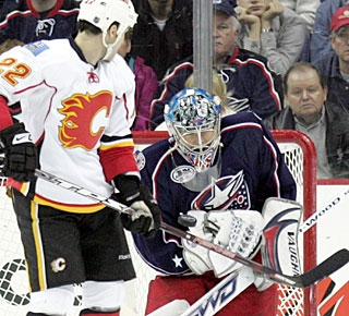 Steve Mason's 10 shutouts are the most for a rookie since Chicago's Tony Esposito had 15 in 1969-70. (AP)