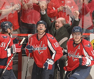 Coach Boudreau makes the Capitals the 21st team to come back from a 3-1 series deficit. (Getty Images)
