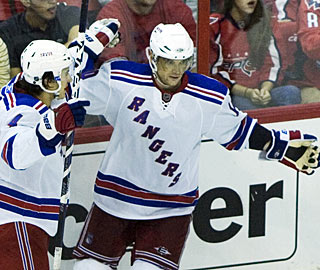 So far so good for Marian Gaborik in a Rangers uniform. He has four goals in four games. (AP)