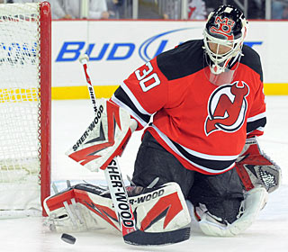 Martin Brodeur has been almost unbeatable lately, with shutouts in three of seven games. (US Presswire)