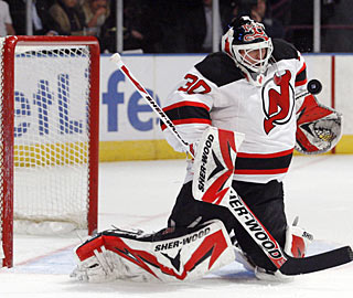 Martin Brodeur turns away 51 shots in regulation and overtime, and four shootout attempts. (US Presswire)