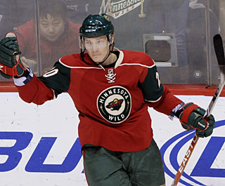 Antti Miettinen has two goals in a game for the fourth time this season. (AP)