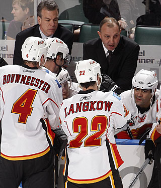 Brent Sutter and brother Darryl haven't been able to produce results as coach-general manager tandem. (Getty Images)