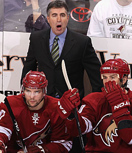 'Their top players came out and dictated the pace and we had no answer for them,' Dave Tippett says. (Getty Images)