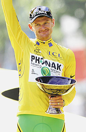 Floyd Landis became the first Tour de France winner to have his title stripped for doping. (Getty Images)