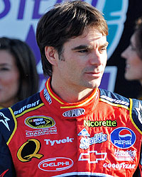 Jeff Gordon feels good about his 2009 prospects. (US Presswire)