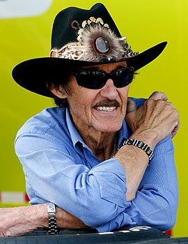 Richard Petty won a record seven titles, tied with Dale Earnhardt Sr. (Getty Images)