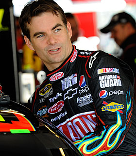 Although without a win in more than a year, Jeff Gordon gets an A to this point. (Getty Images)