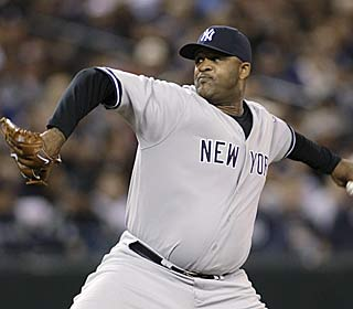 CC Sabathia allows no runs and four hits in seven innings to pick up his 18th victory.  (AP)